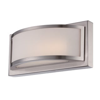 Nuvo Mercer Frosted Glass 1-light LED Vanity Fixture
