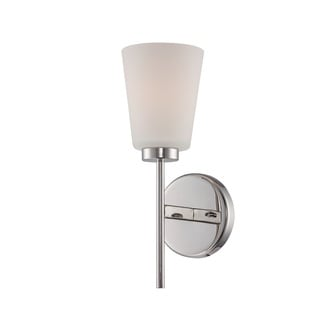 Nuvo Benson Polished Nickel Wall Sconce