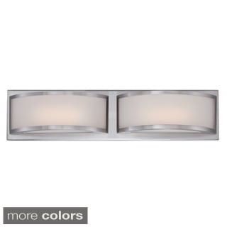 Nuvo Mercer 2-light LED Vanity