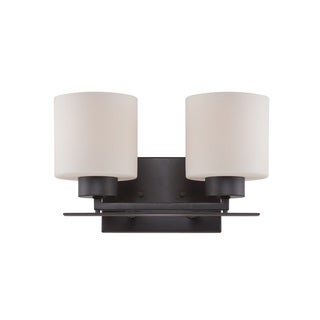 Nuvo Parallel 2-light Vanity
