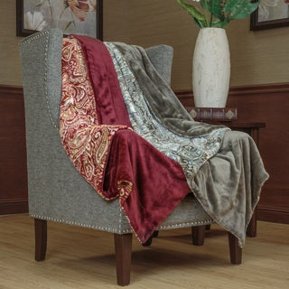 Premier Comfort Birmingham Printed Microlight Throw Blanket