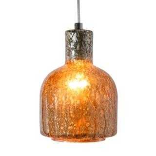 Varaluz Brooklyn Polished Chrome and Mercury Glass 1-light Mini Pendant