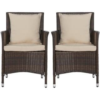 angelo:HOME Napa Estate Sandy Brown Indoor/Outdoor Dining Chair 2 Piece Set