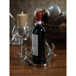 Reindeer Pillar Holder/ Wine Coaster