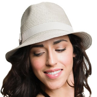Women's Classic Fedora Straw Hat (China)