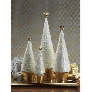 Capiz Cone Tree Decoration
