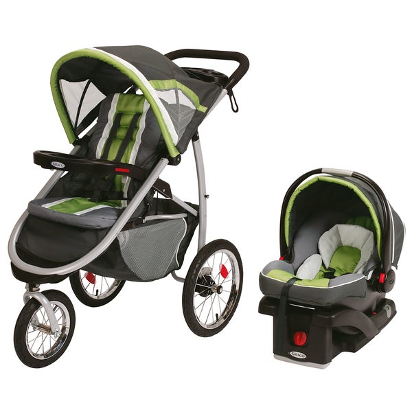 Graco FastAction Jogger Click Connect Travel System in Piazza