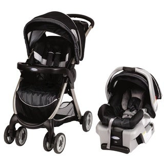 Graco FastAction Fold Classic Connect Travel System in Metropolis with $25 Rebate