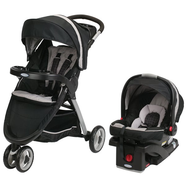 Graco FastAction Fold Sport Click Connect Travel System in Pierce