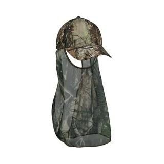 Outdoor Mossy Oak Break-Up Air Mesh Cap with Facemask