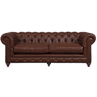 Durango Antique Brown Rustic Bonded Leather Sofa