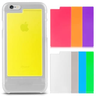 Insten Tri-tone Customized Matte PC Hard Ultra-slim Protector Case for Apple iPhone 6/ 6s 4.7-inch