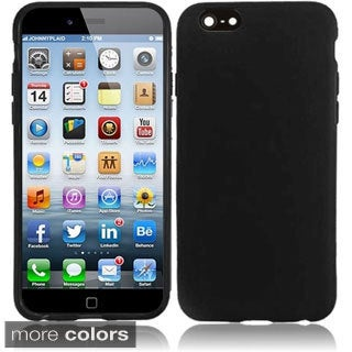 INSTEN Stiff Dust Proof Frosted TPU Rubber Case for Apple iPhone 6 4.7-inch