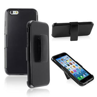 INSTEN Hybrid Stand Case w/ Sturdy Holster for Apple iPhone 6 Plus 5.5-inch