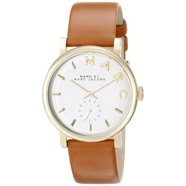 Marc Jacobs Women's MBM1316 Baker Brown Leather Watch