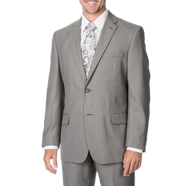 Marco Carelli Men's Grey 2-button Suit Separate Blazer