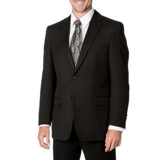 Marco Carelli Men's Black 2-button Suit Separate Blazer