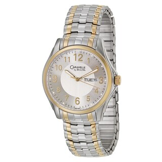 Caravelle by Bulova Men's Expansion Stainless Steel Yellow Gold-plated Quartz Watch