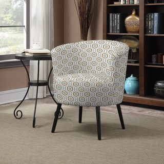 Portfolio Mariel Sea Foam Blue Arm Chair
