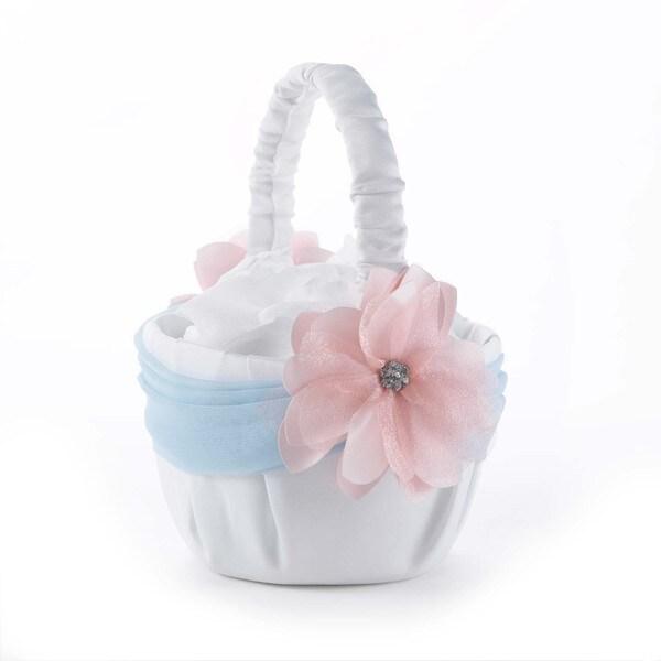 Pretty Pastels Flower Basket