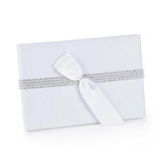 Hortense B. Hewitt White Bling Guest Book