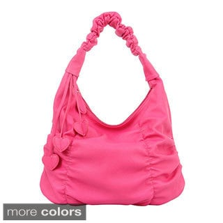 Mellow World 'Gossip' Ruched Hobo Bag
