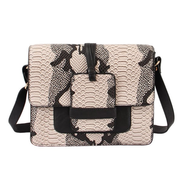 Mellow World 'Amazon' Reptile-embossed Crossbody Bag