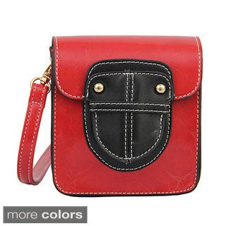 Mellow World 'Mui' Small Two-tone Crossbody Bag