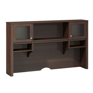 Kathy Ireland Office by Bush Furniture Grand Expressions 66-inch Hutch with Overhead Storage