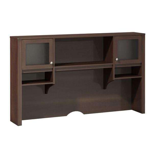 Model  Storage Hutch BeechSlate Standard Delivery By Office Depot Amp OfficeMax