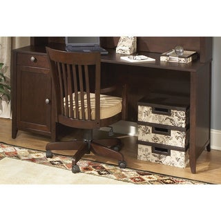 Kathy Ireland Office Grand Expressions 66-inch Single Pedestal Desk