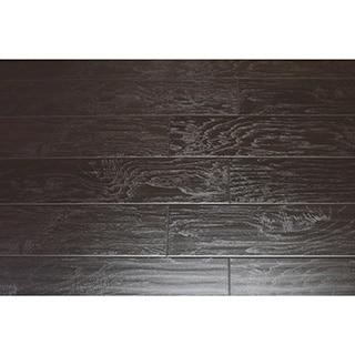 Kokol's 12 mm Laminate Wild Dark Espresso Teak Flooring (21.25 sq ft)