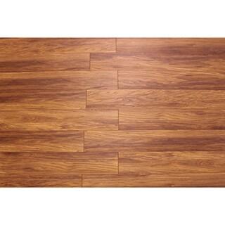 Kokol's 12 mm Laminate Sumatra Teak Flooring (25.83 sq ft)