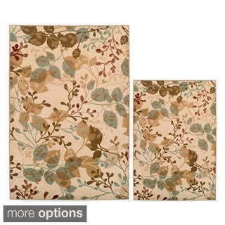 Easton Collection 2-piece Area Rug Set (2' x 3')(3' x 5')
