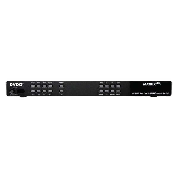 DVDO 4K Ultra HD 4x4 Matrix Switcher