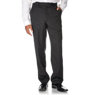 Adolfo Men's Black Hemmed Dress Pants