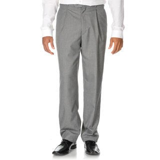 Adolfo Men's Grey Dress Pants