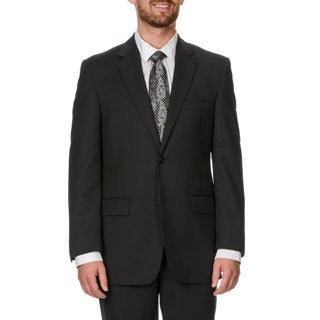 Adolfo Men's Black Wool Blend Sportcoat
