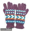 Warm Winter Knit Ski Gloves (Nepal)