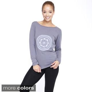 Women's Organic Cotton Mandala Top (Nepal)