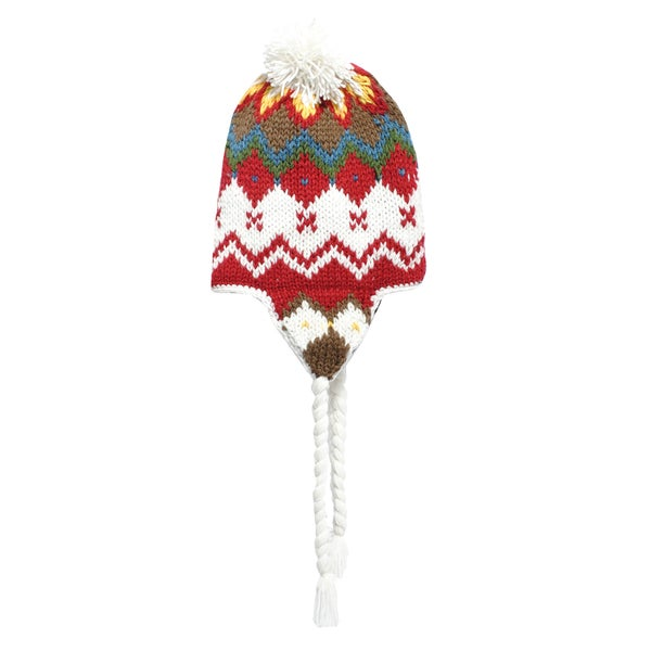Knit Snowboarding Hat with Pom Pom (Nepal)