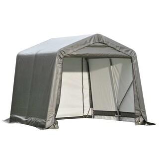 Shelterlogic Outdoor Garage Automotive/ Boat Grey 11 x 10-foot Storage Shed