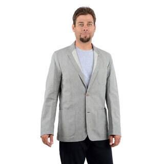 Hickey Freeman Men's Grey Soft Sport Coat