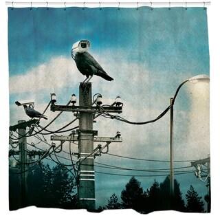 Sharp Shirter Hawkeye Shower Curtain