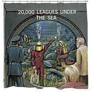 Sharp Shirter 20,000 Leagues Under the Sea Shower Curtain