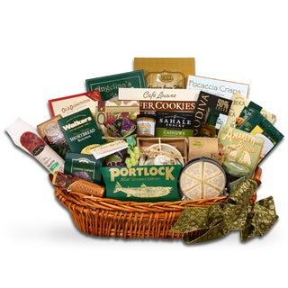 International Holiday Gourmet Food Basket