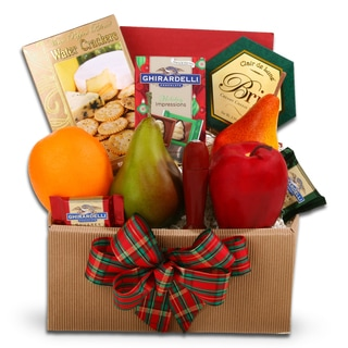 Holiday Fresh Fruit Gourmet Food Box