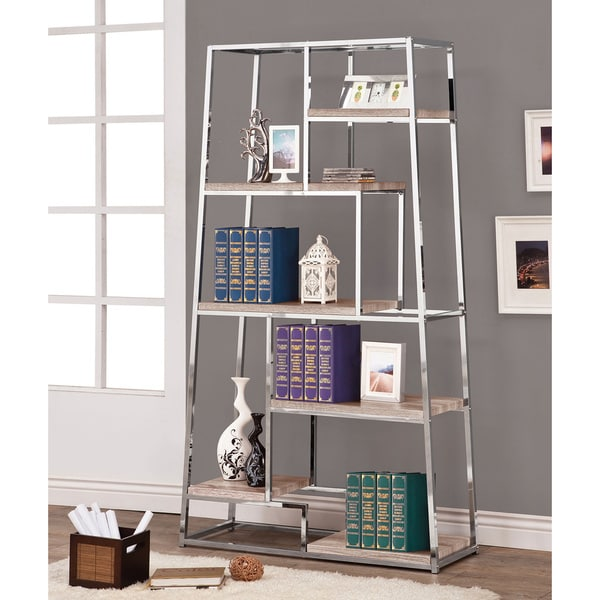 Reclaimed Wood Look Bookshelf