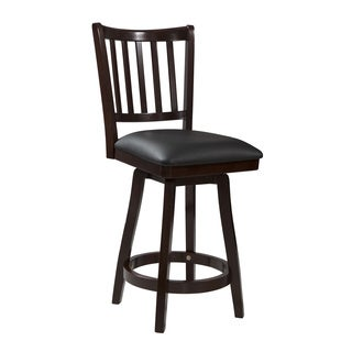 Powell Big and Tall Slat Back Counter Stool