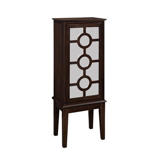 Powell Java and Mirror Jewelry Armoire